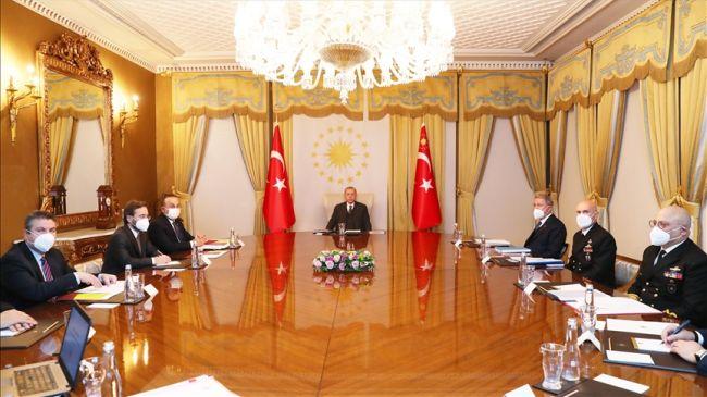 Erdoğan Başkanlığında Dış Politika Değerlendirildi