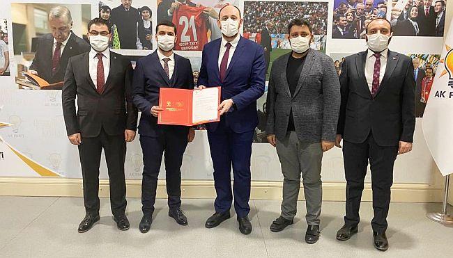 AKP İl Gençlik Koluna Yeni Başkan
