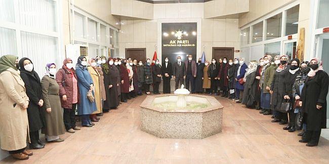 AKP Battalgazi'de Yeni Kadın Kolları