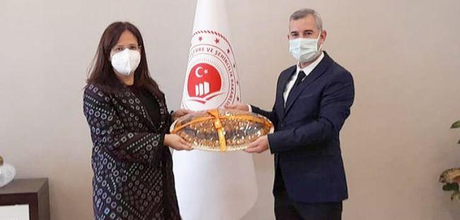 Çınar'ın Ankara Ziyaretleri