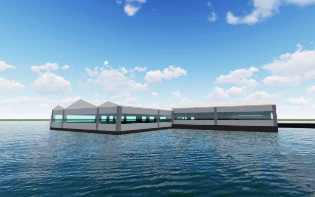 Baraj Gölüne Su Üstü Lokanta Projesi