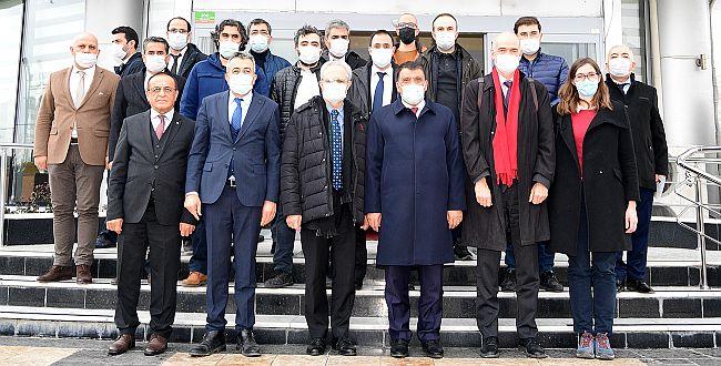 AB ve Fransız Delegasyonundan Gürkan'a Ziyaret