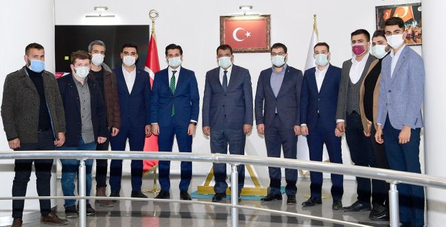 AKP'li Gençlerden Gürkan Ziyareti