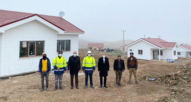 """""""25 Mahalledeki 540 Konut 1-2 Ay İçerisinde Tamamlanacak"""""""