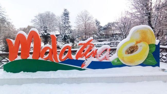 Malatya Kar Altında