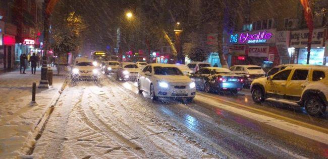 Kar ve Tipi Zor Anlar Yaşattı