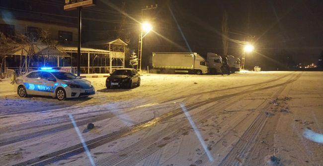 Malatya- Kayseri ve Sivas Yollarında Ulaşıma Kar Engeli