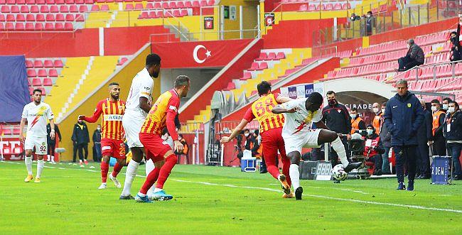 Yeni Malatyaspor, Kayseri'de de Kayıp.. 1-0
