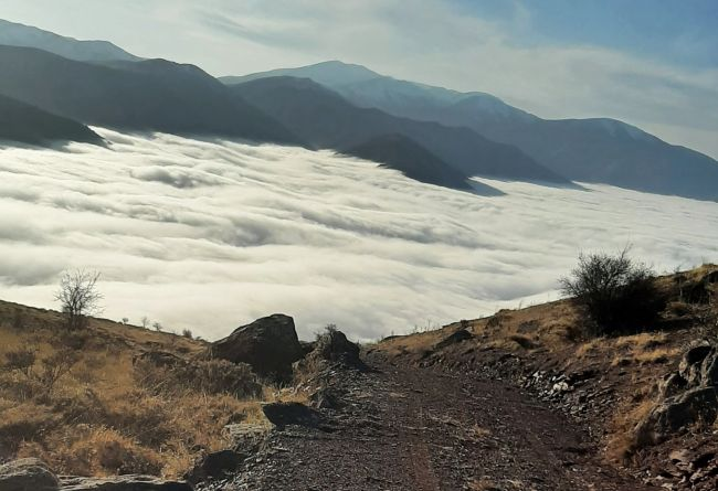 Kubbe Dağı'ndan Sis Manzaraları
