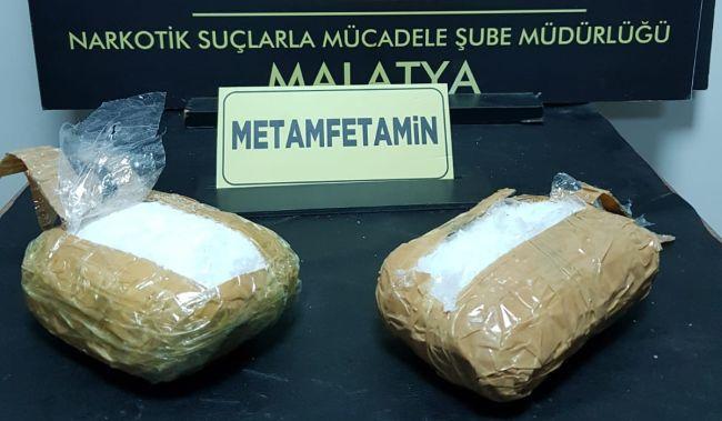 1 Kilo Metamfetamin Ele Geçti, 3 Gözaltı..