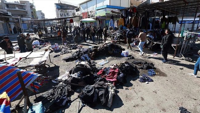 """Irak İçişleri: """"Patlamanın Arkasında DEAŞ Var"""""""