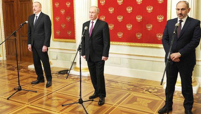 Rusya'da, Azerbaycan ve Ermenistan Zirvesi