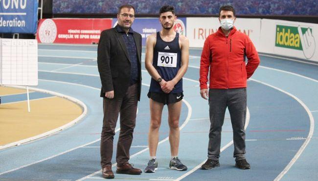 Güngör'den 2 Türkiye Rekoru
