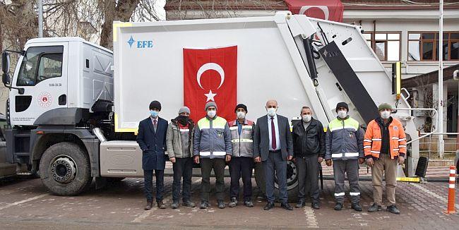 Bakanlıktan Doğanşehir'e Hibe Araç