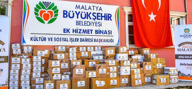 Büyükşehir'den 19 Milyonluk Yardım
