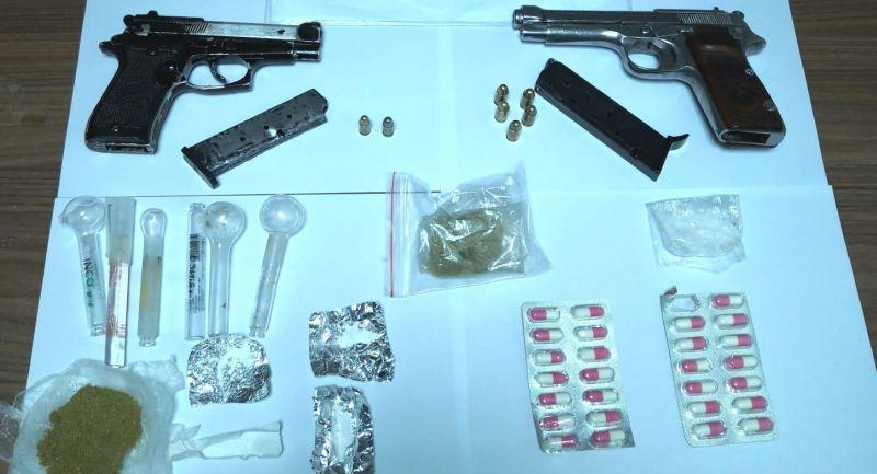 Asayiş Uygulamasında 8 Silah ve Uyuşturucu Ele Geçti