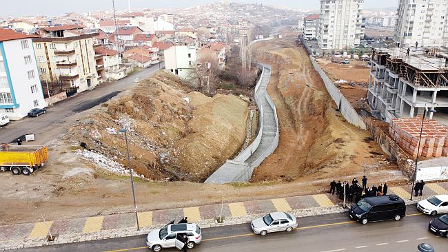 """""""Çevre Yolu Altının Çehresi Değişiyor"""""""