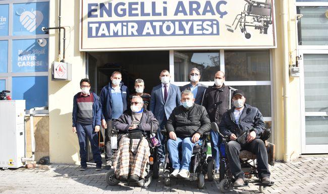 Engelli Araçları İçin Tamir Atölyesi