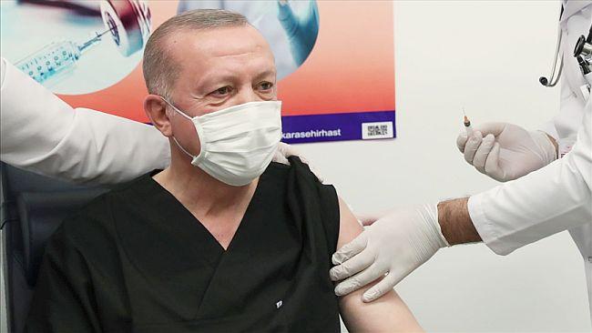 Erdoğan 2. Doz Aşıyı Yaptırdı