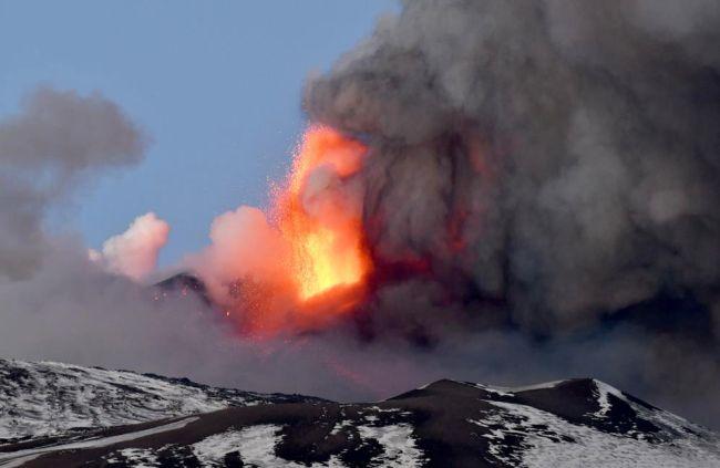 Etna Yeniden Faaliyete Geçti