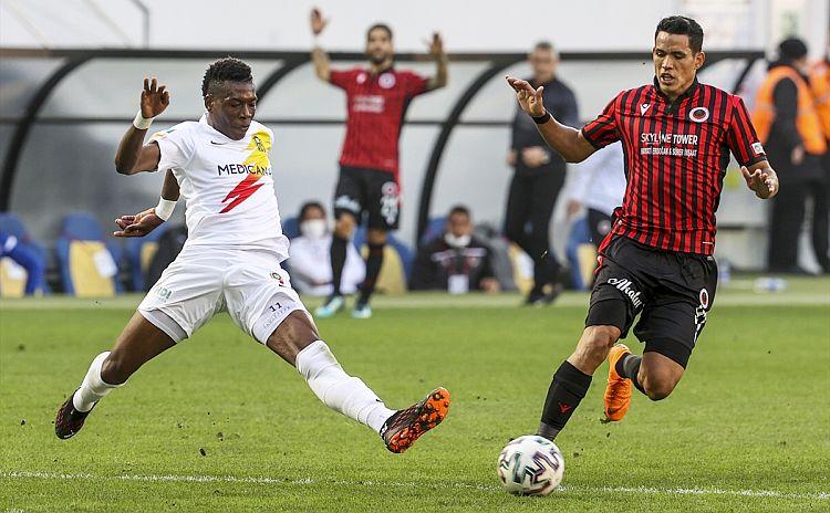 Gençlerbirliği Maçında Goller Yeni Malatyaspor'dan!. 1-1
