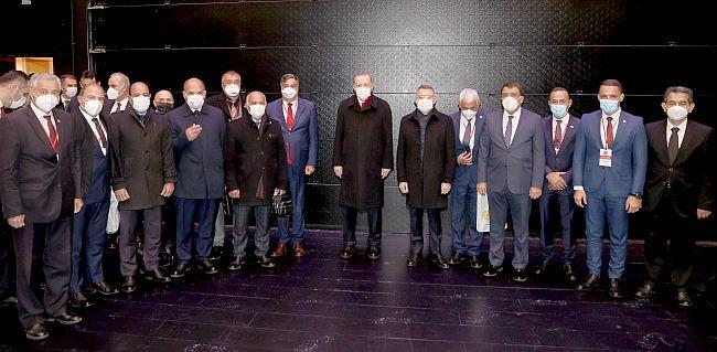 'Cumhurbaşkanı Malatyalılara Sevgi ve Muhabbetini İletti'