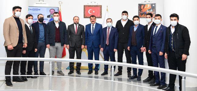 Gürkan, MTTB'li Karayel'i Ağırladı