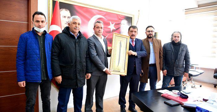 Sarıcıoğlu Heyetinden Gürkan'a Ziyaret