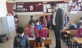 Kaymakamdan Okul Ziyareti