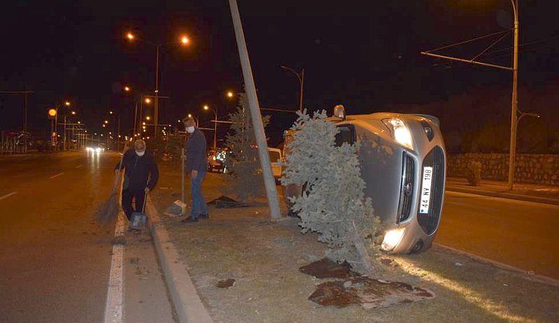 Çevre Yolu'ndaki Kazada Sürücü Yaralandı