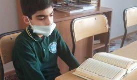 Kur'an'ı Güzel Okuma Birincisi Darende'den