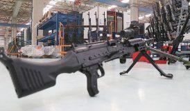 Yerli ve Milli Makineli Tüfek SAR 762 MT