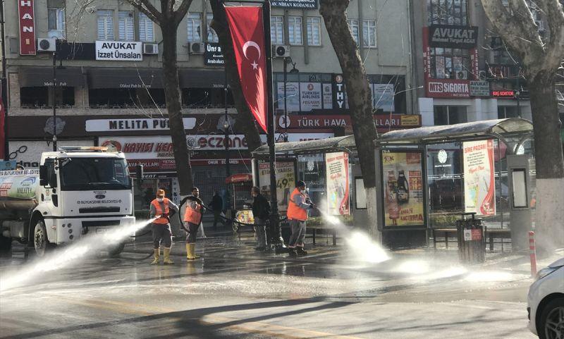 Sokak Kısıtlamasında Kent Temizliği