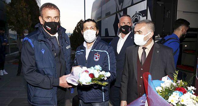 Trabzonspor Kafilesi Malatya'ya Geldi