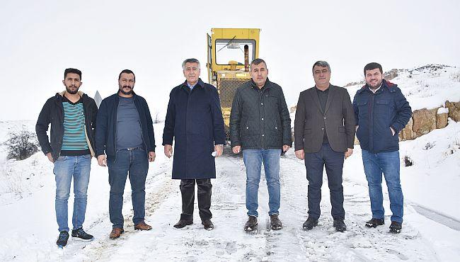 Yazıhan'da Kar Mücadelesi