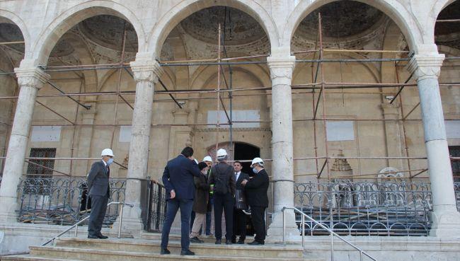 Yeni Cami'nin Onarımı Ağustos'ta Tamamlanacak