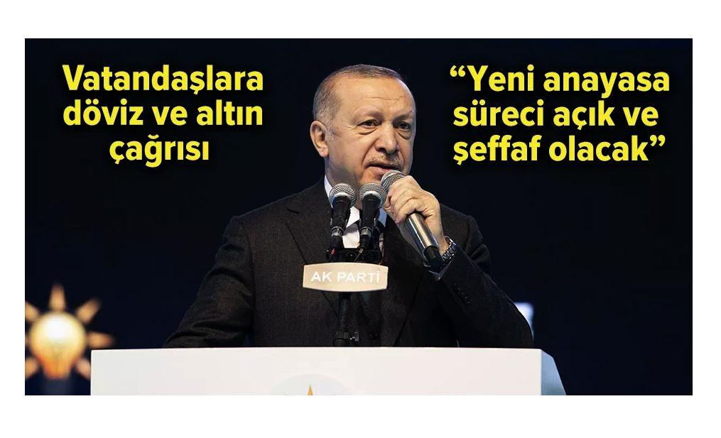 Cumhurbaşkanı Erdoğan 2023 Manifestosunu İlan Etti