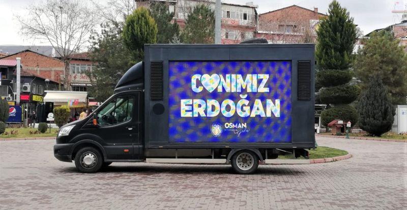 Battalgazi'de de 'Canımız Erdoğan' Desteği