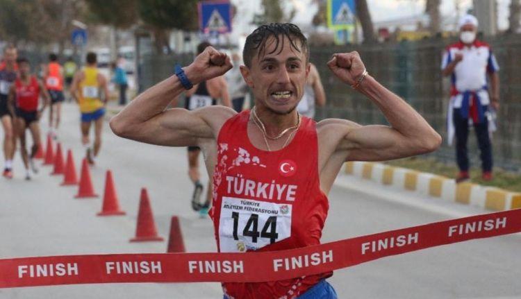Korkmaz ve Özbek Atletizm Kampında