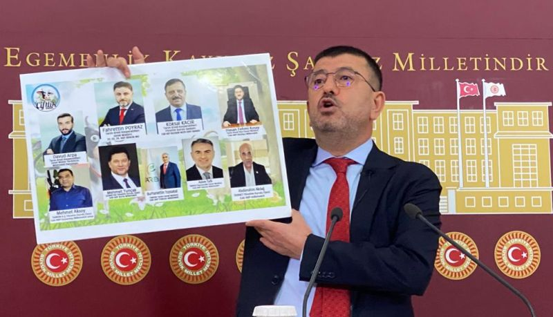 """Ağbaba'dan Çok Ağır Eleştiriler.. """"Yeni Çiftlik Bank!"""""""