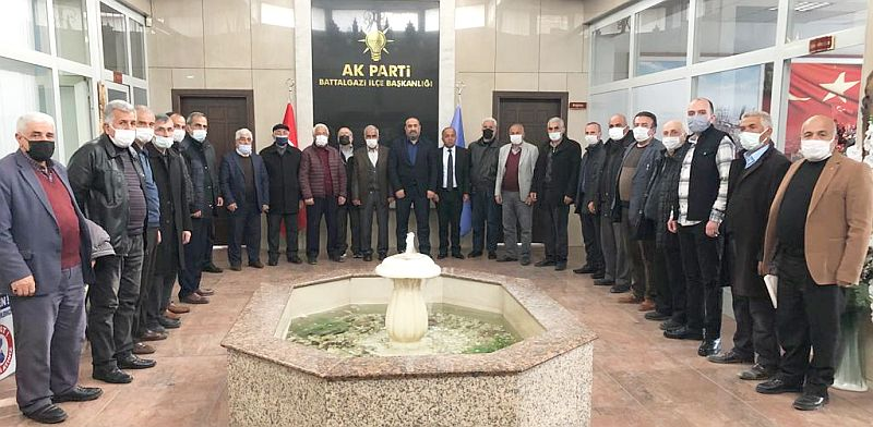 AKP Battalgazi'de İstişare Toplantısı
