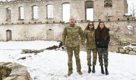 Aliyev, İşgalden Kurtarılan Şehirleri Ziyaret Etti