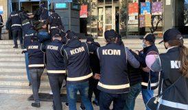 Suç Çetesi Operasyonuna 13 Tutuklama