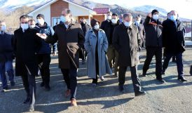 TBMM Deprem Komisyonu Elazığ'da