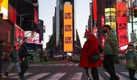 New York Meydanına 'Gülen'i Durdurun' İlanı
