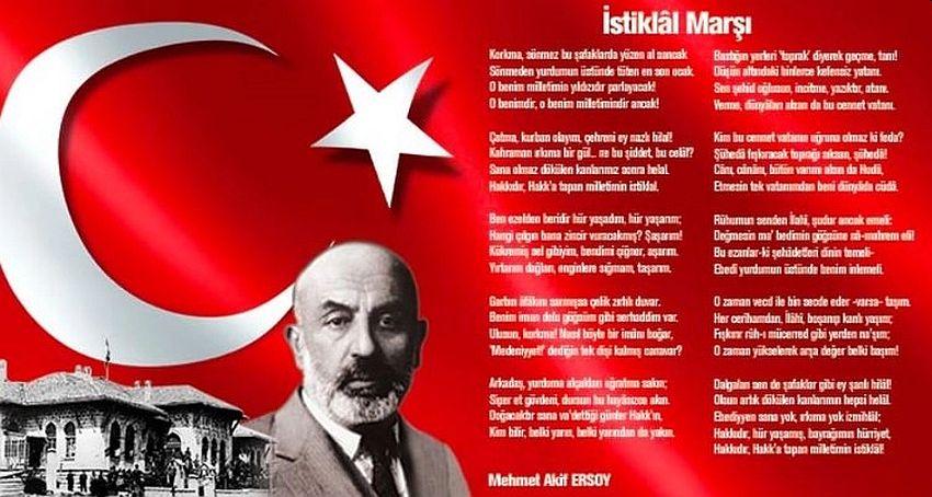 İstiklal Marşı'nın Kabulünün 100. Yıldönümü Kutlanıyor