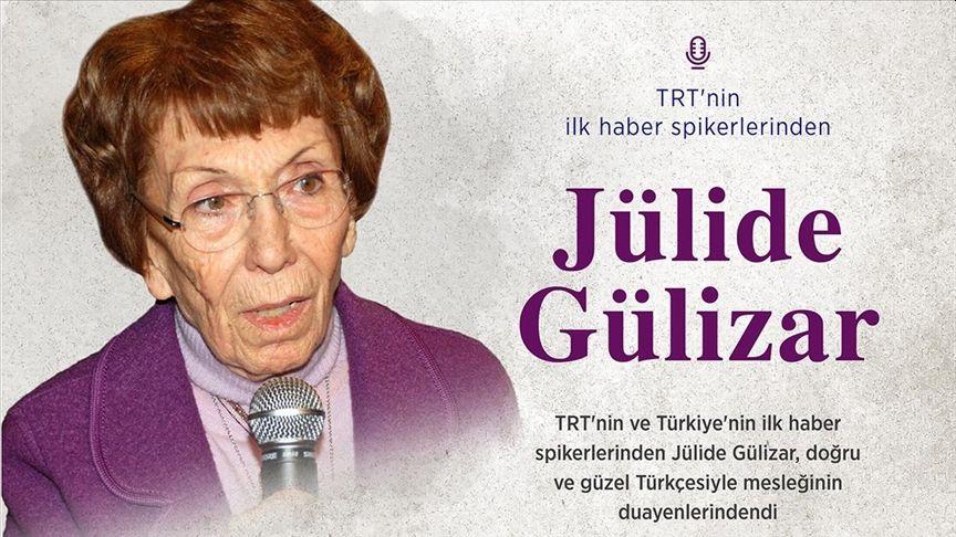 TRT'nin İlk Haber Spikerlerinden Jülide Gülizar