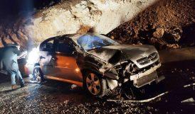 Darende Yakınındaki Kazada 3 Yaralı