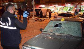Saldırganlar 2 Araca Ateş Açtı, Bir Kadını Vurdu