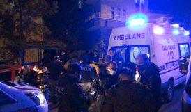 Evden Ateş Açıldı, 2 Kişi Yaralandı